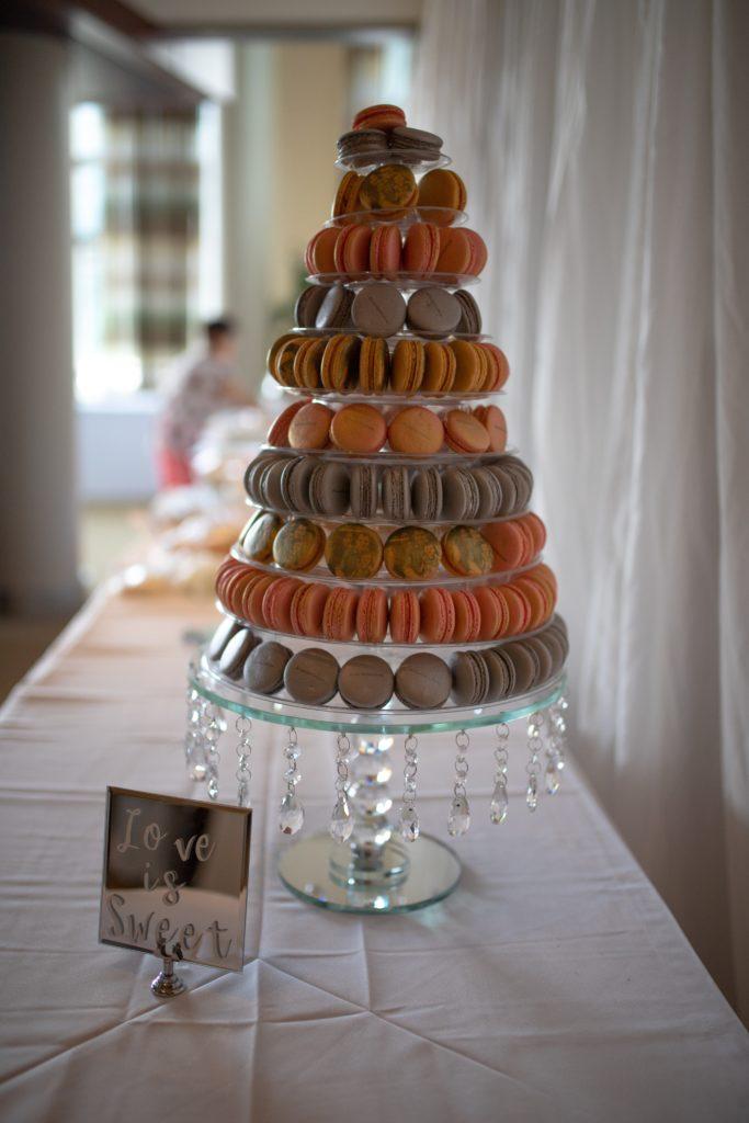 Macaron réalisé par mon artisan pâtissier.